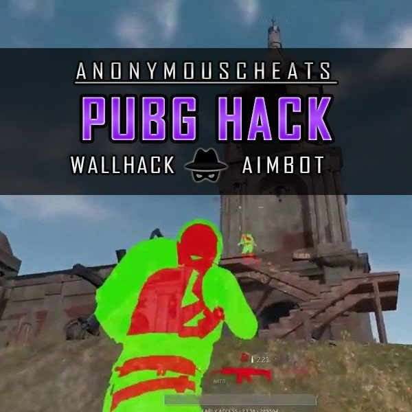 PUBG hacks with aimbot and wallhack