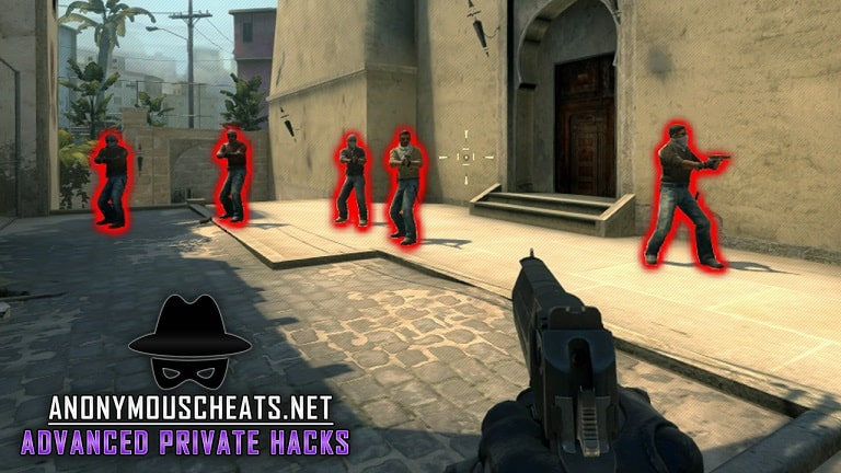 wallhack glow and chams features